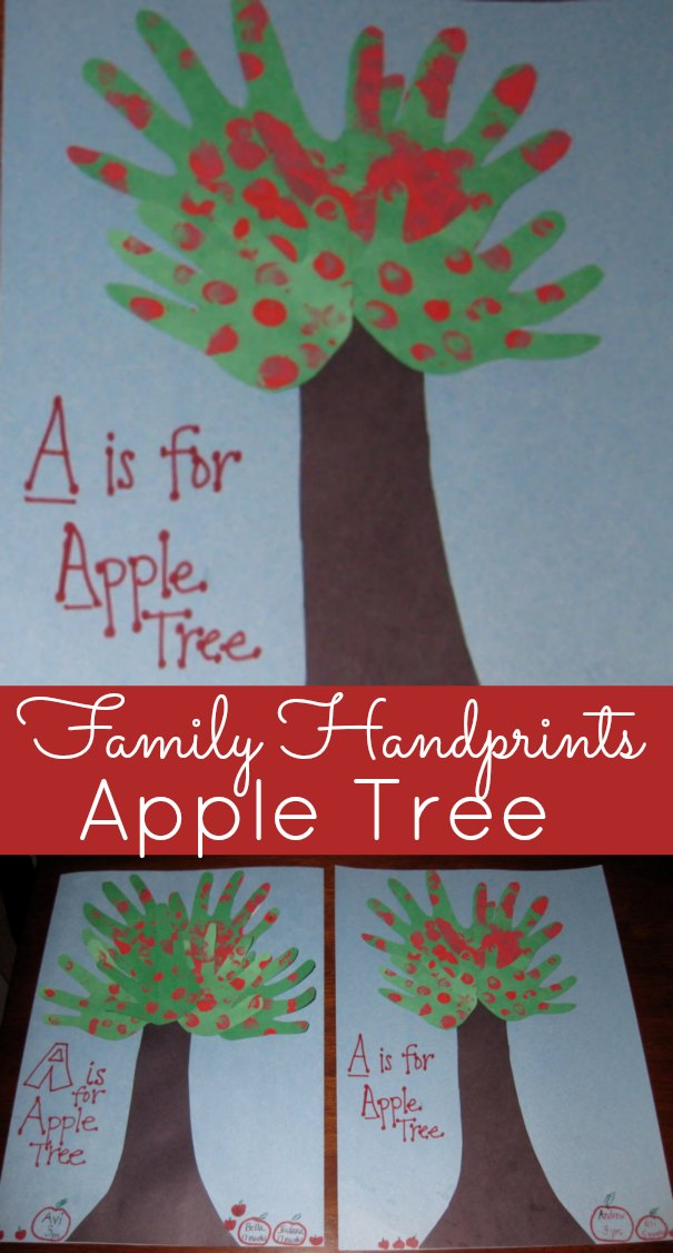 Handprint Apple Trees