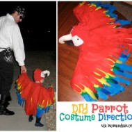 Homemade Parrot Costume