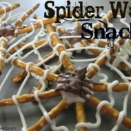 Spider Web Snacks