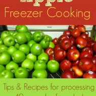 Apple freezer cooking