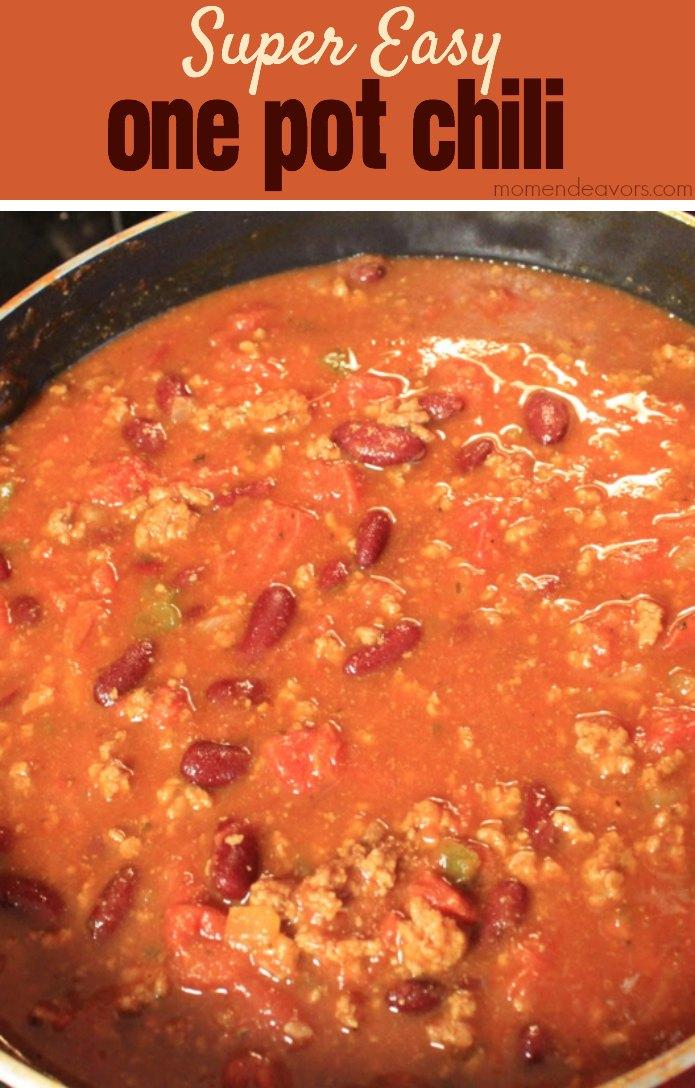Easy One Pot Chili