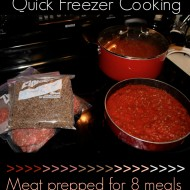 Quick Ground Beef Freezer Cooking