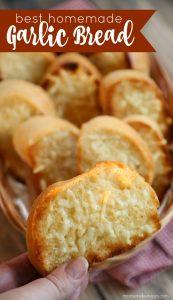 Best Homemade Garlic Bread