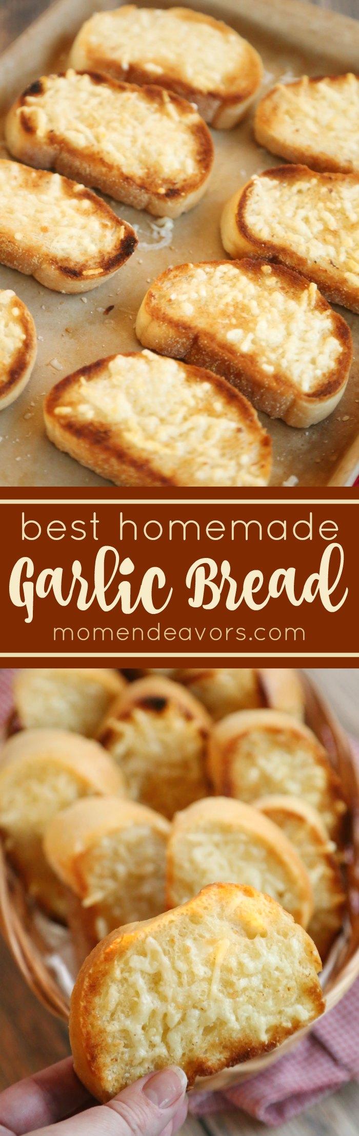 Best Homemade Garlic Bread Recipe