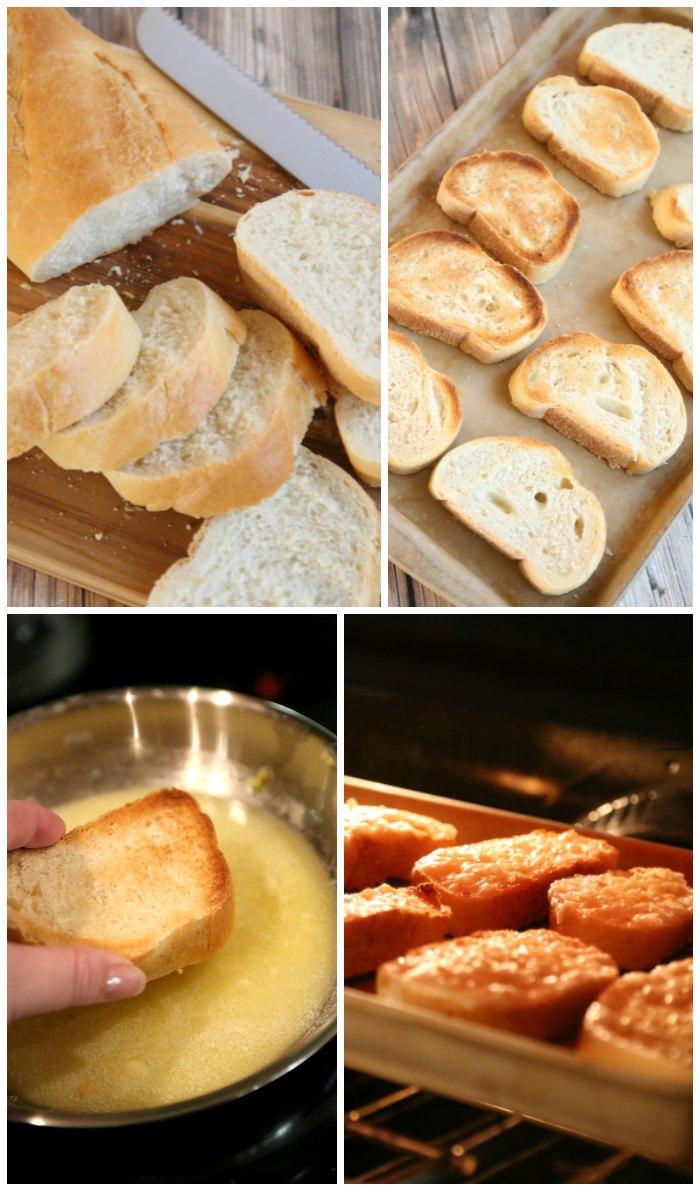 Making Homemade Garlic Bread