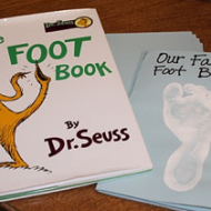 Make your own Foot Book!