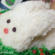 Coconut Bunny Cake-An Easter Tradition
