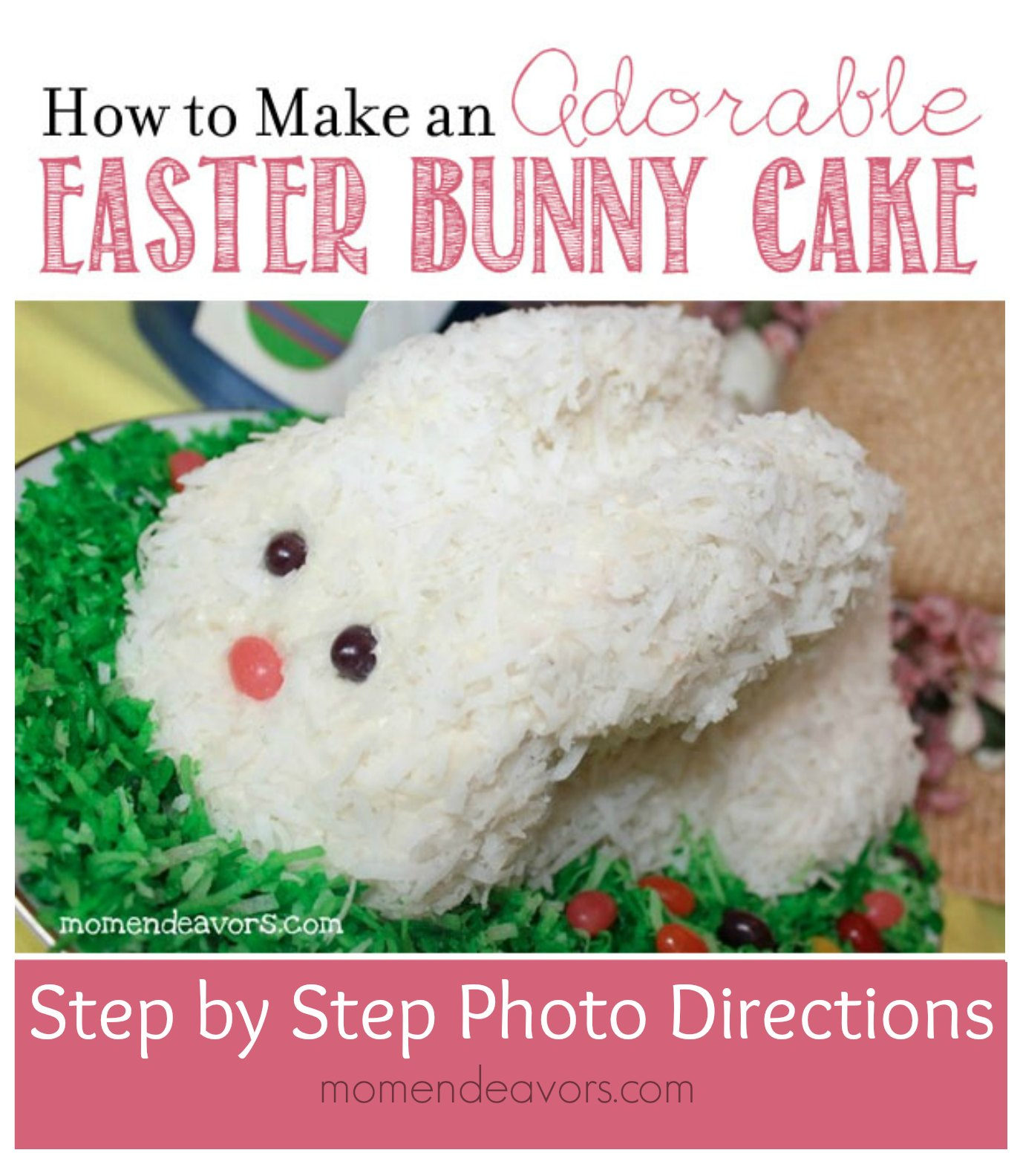 Easter Bunny Cake Tutorial