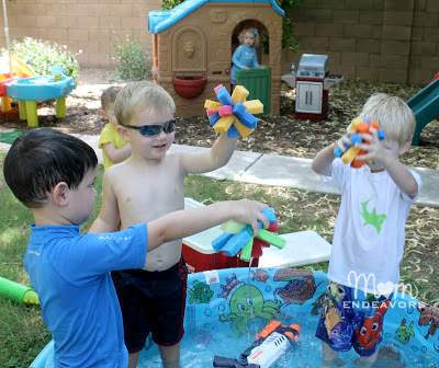 Kids' Water Play Activities