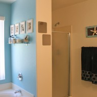 DIY Bathroom Makeover Big Reveal #gliddentesters