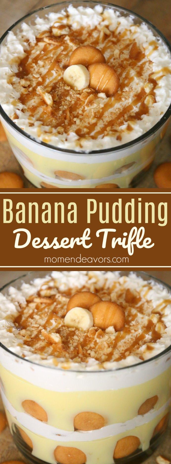 Banana Pudding Trifle Recipe