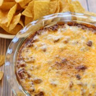 College Football Saturday Tailgate: Chili Cheese Dip
