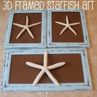 Easy DIY Decor: 3D Framed Starfish Art