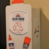 DIY Elmer's Glue Crew Recycling Box