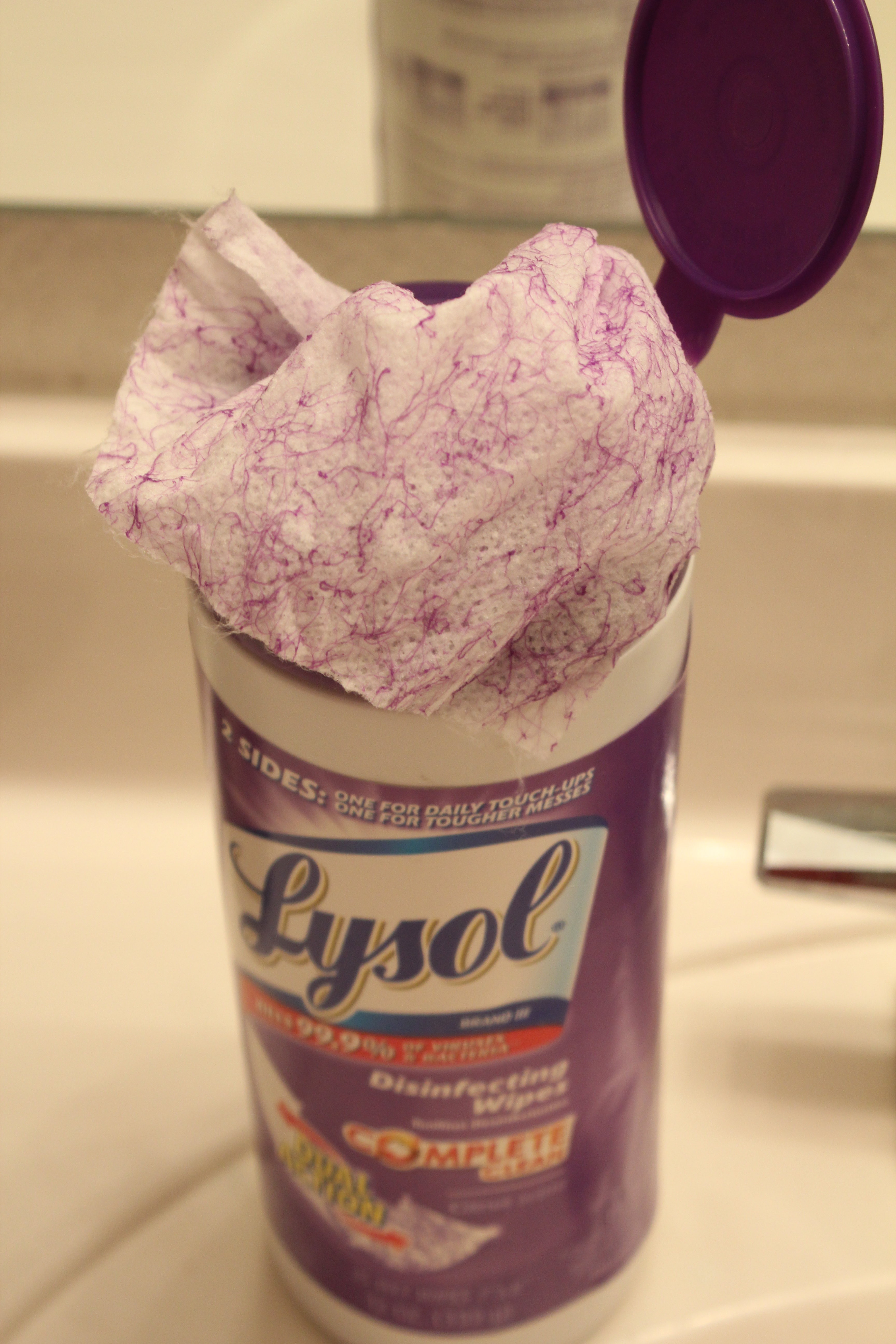 Fighting Back To School Germs With Lysol