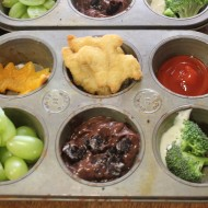 Dinosaur Muffin Tin Meal