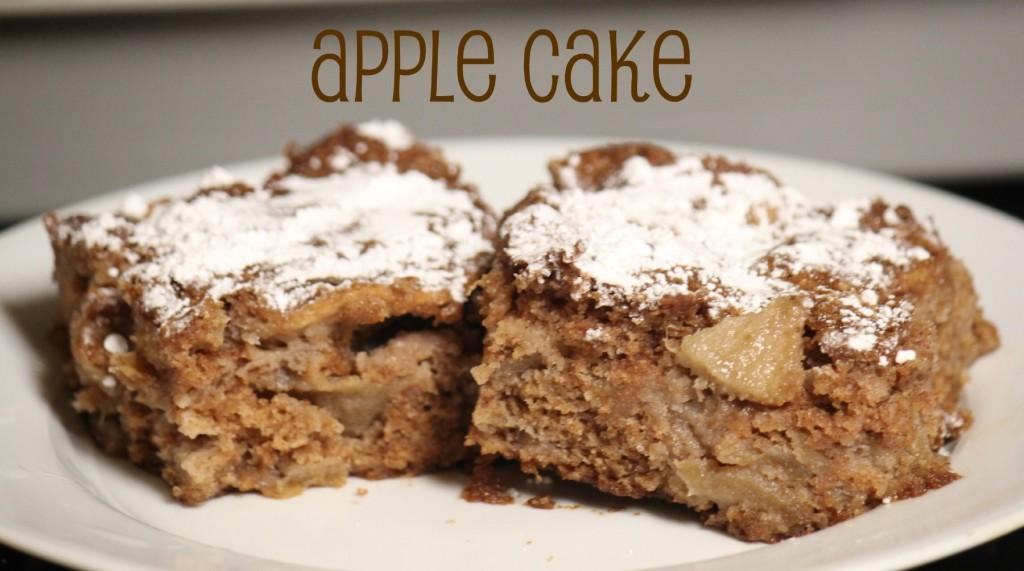 Social media image of Apple Cake