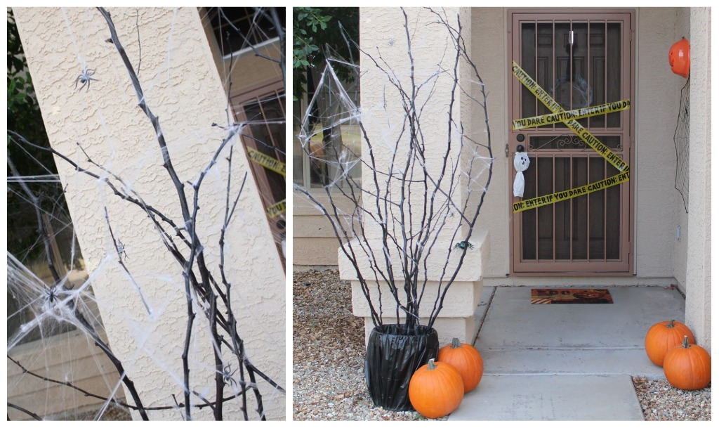 Diy halloween decor for Decoration exterieur halloween