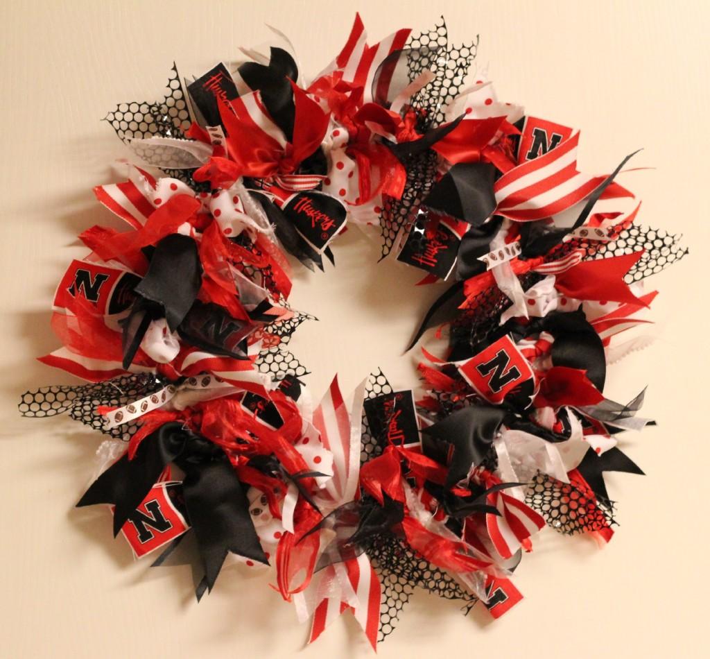 College Football Saturday Tailgate: Football Wreath ...
