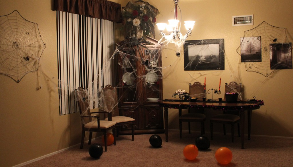 Halloween party playdate featuring kmart halloween party for Living room ideas kmart