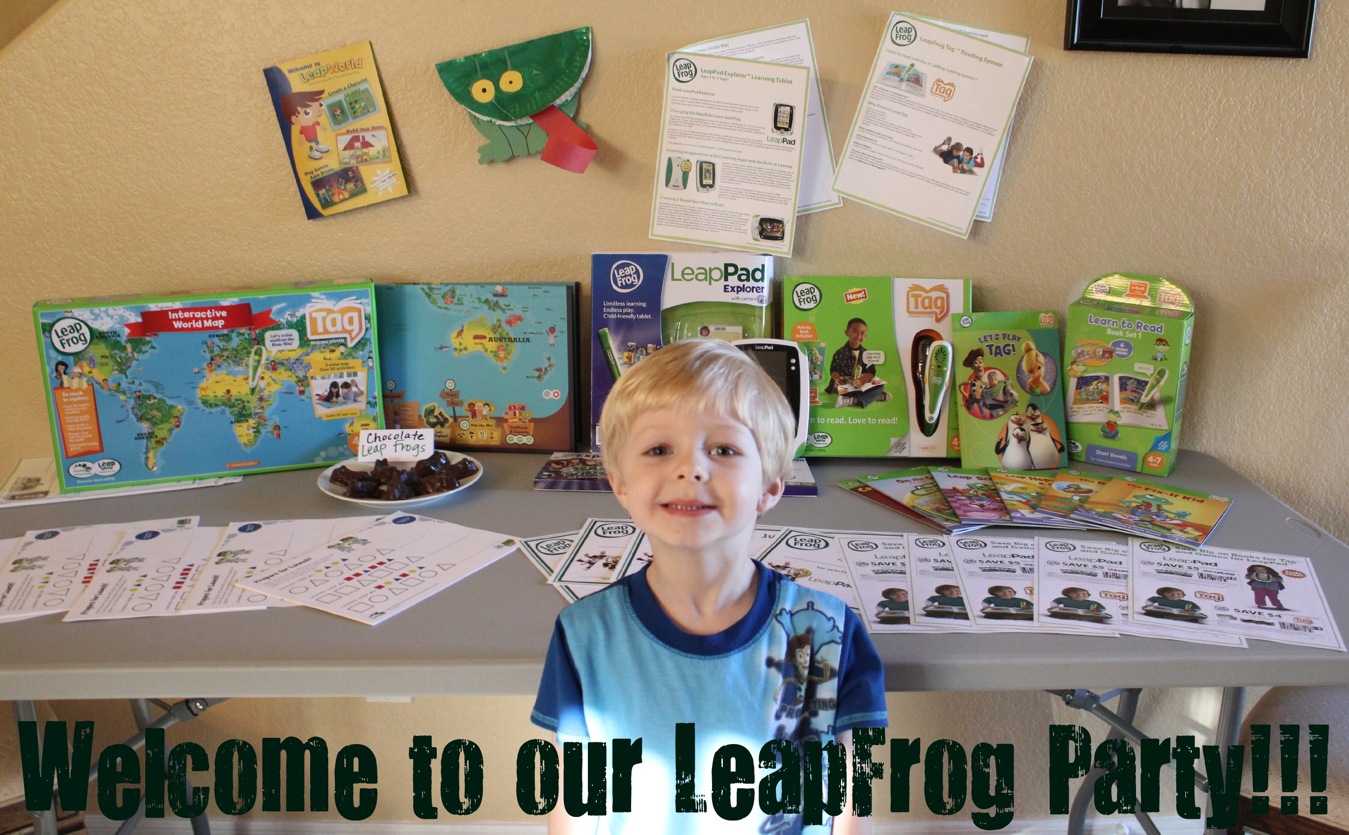 Create and craft coupons - Leapfrog Learn Create And Share Party Review Of Leapfrog Leappad Tag Reading System