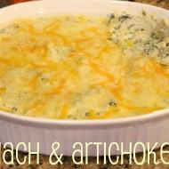 College Football Saturday Tailgate: Spinach & Artichoke Dip