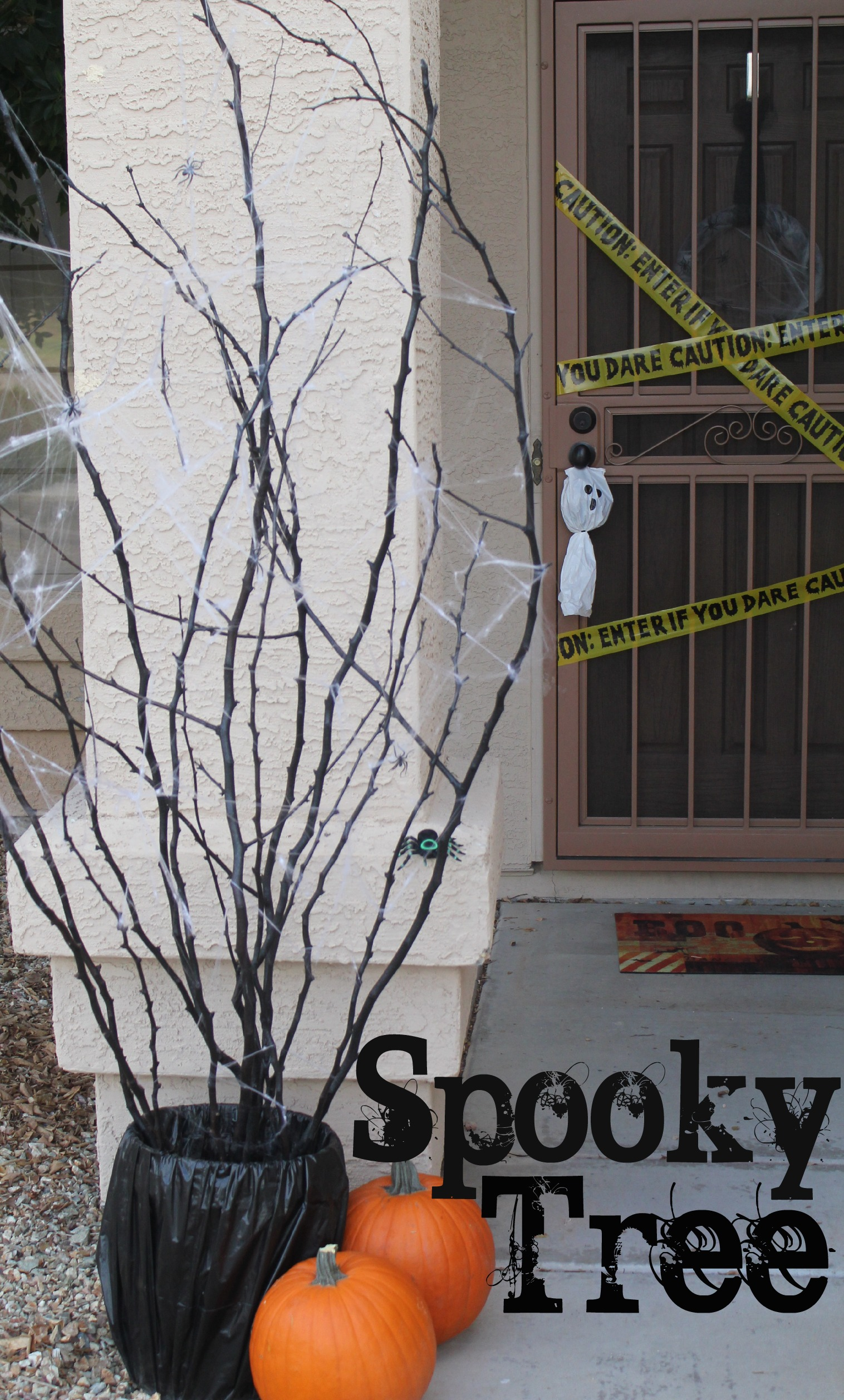 things to remember spooky tree from lowes
