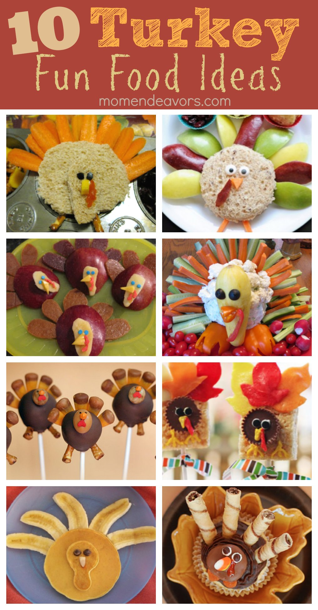 10 Turkey Fun Food Ideas