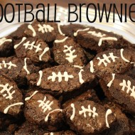 College Football Saturday Tailgate: Football Brownies