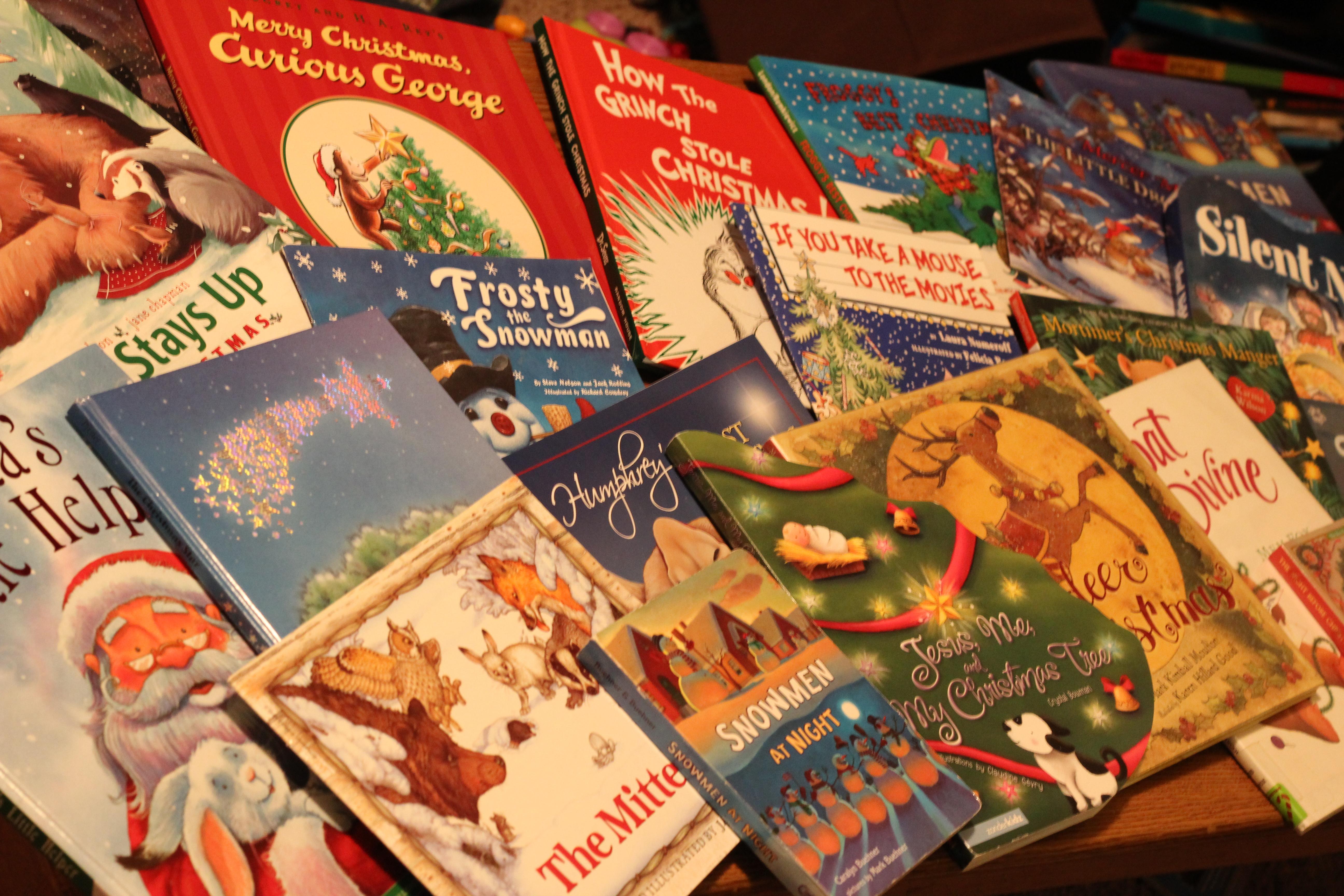 Christmas Books.Christmas Book Advent