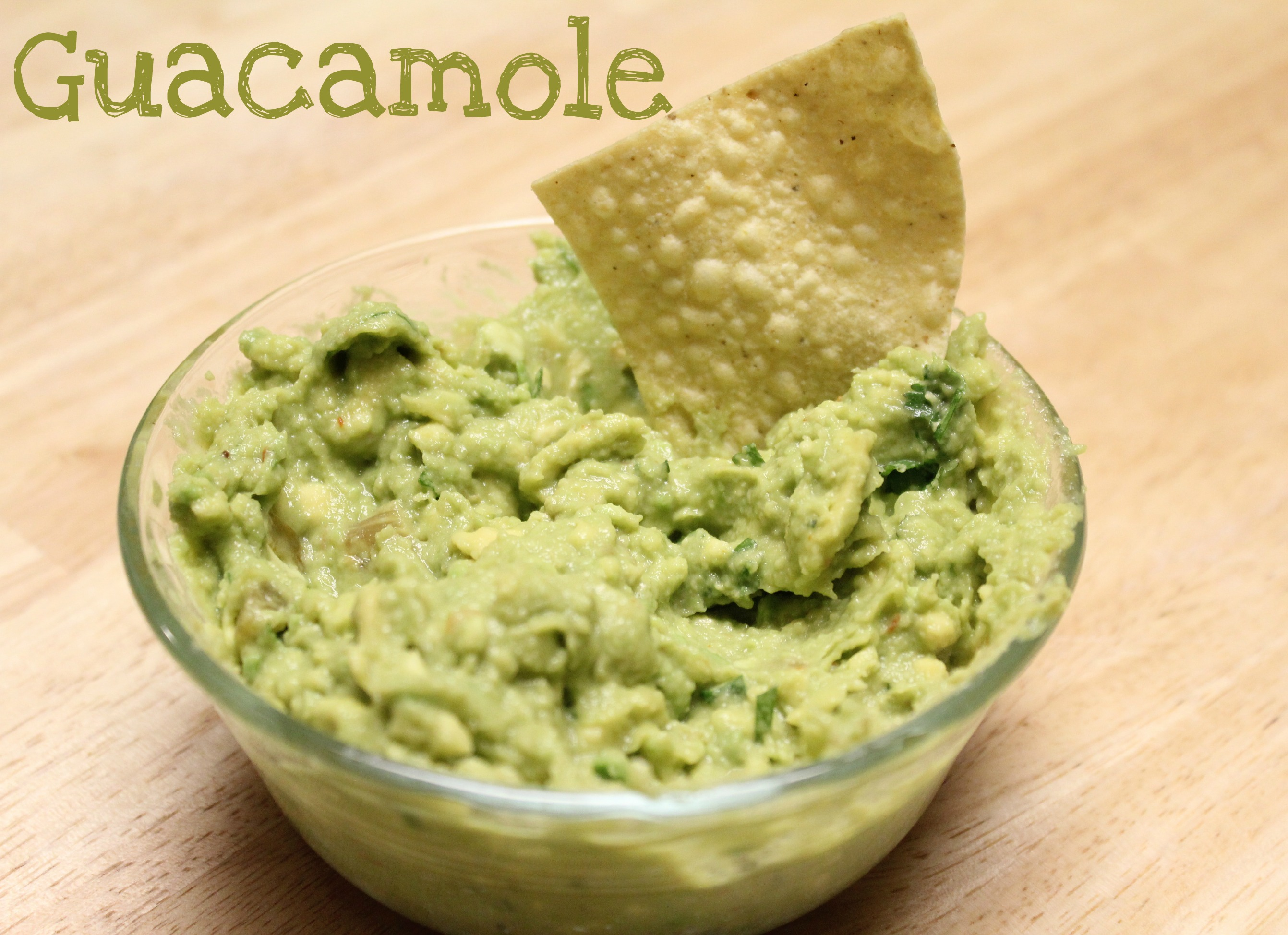 Easy Guacamole Recipe — Dishmaps