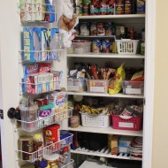 Pantry Organization {Pantry Challenge Finale}