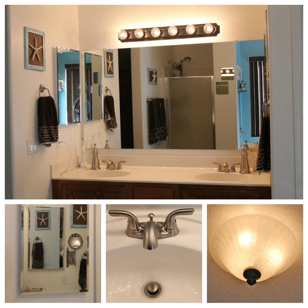 Master bathroom makeover for Bathroom displays