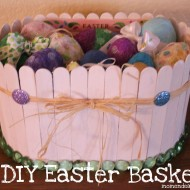 Scribble Shop Challenge– DIY Easter Basket