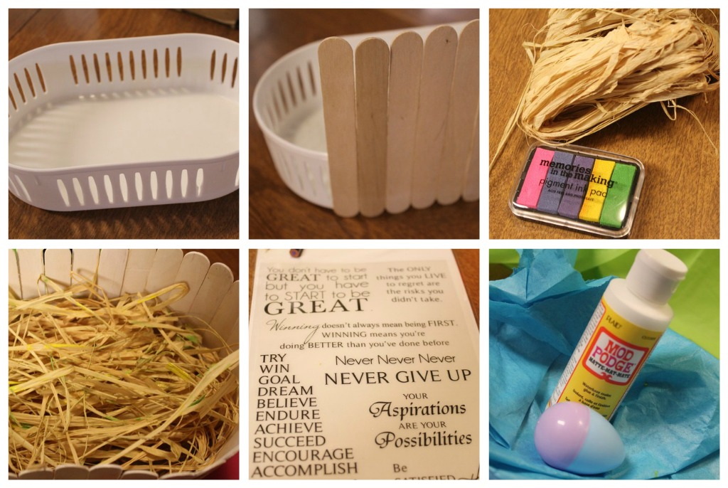 Scribble Shop Challenge Diy Easter Basket