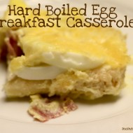 Hard Boiled Egg Breakfast Casserole #EasterMeals