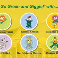 Go Green with the Gigglin' Garden Gang!