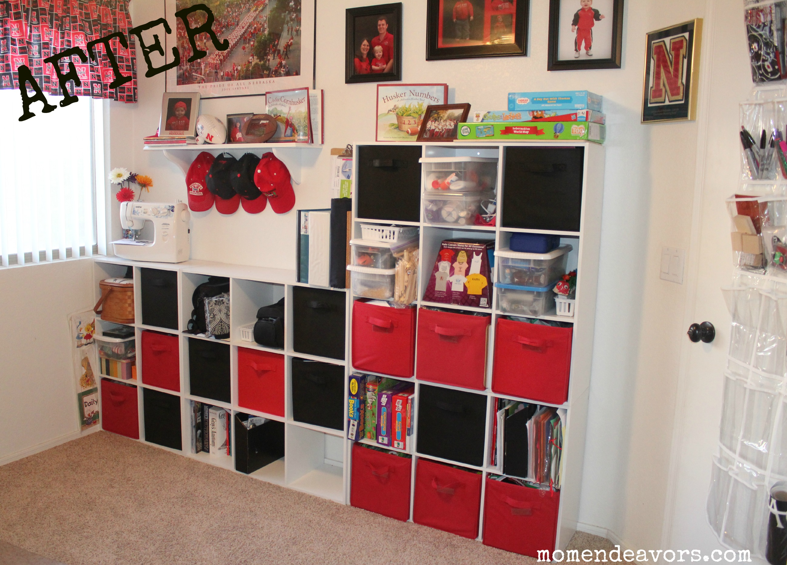 Craft Room Makeovers: Office/Craft Room Makeover Reveal