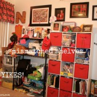 Office/Craft Room Work-in-Progress {$100 Lowe's Gift Card Giveaway}