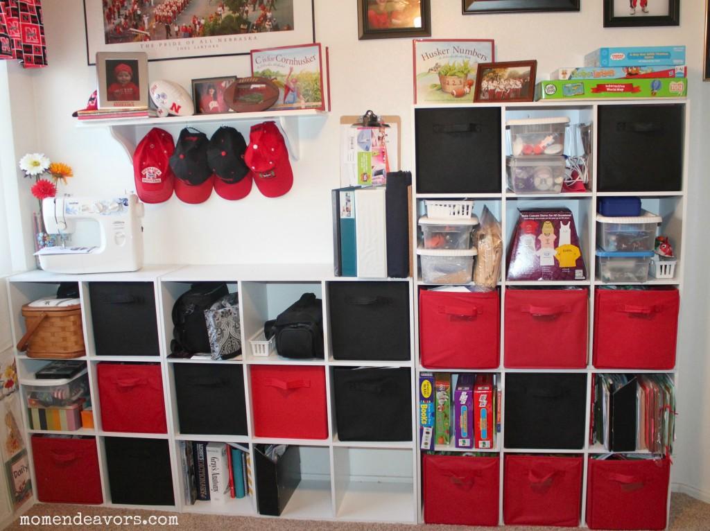 Bedroom Shelf Organization Ideas