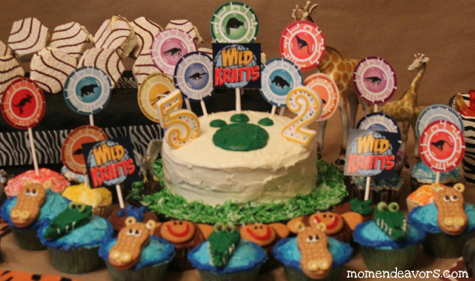 Diy Wild Kratts Party Decorations Activities
