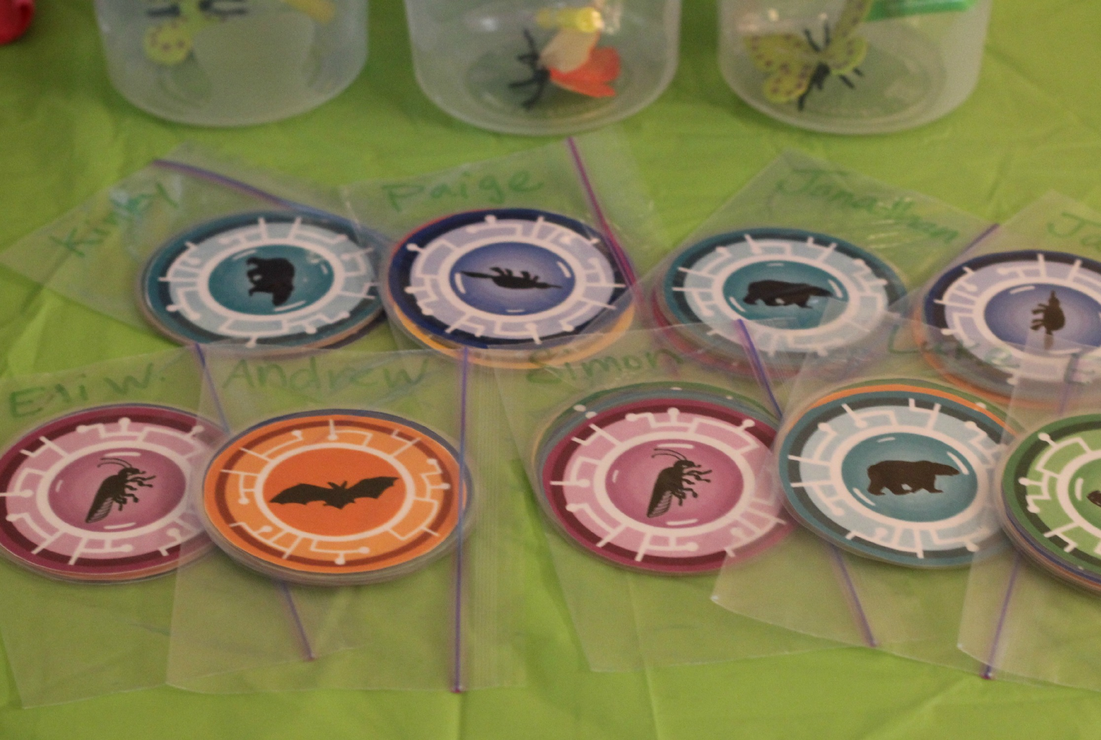 picture about Wild Kratts Creature Power Discs Printable titled Do-it-yourself Wild Kratts Celebration Decorations Functions