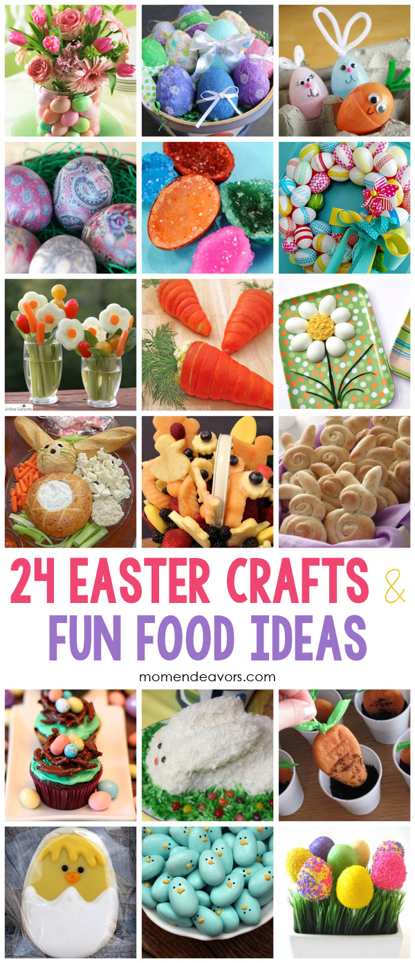 Easter Crafts And Food Ideas