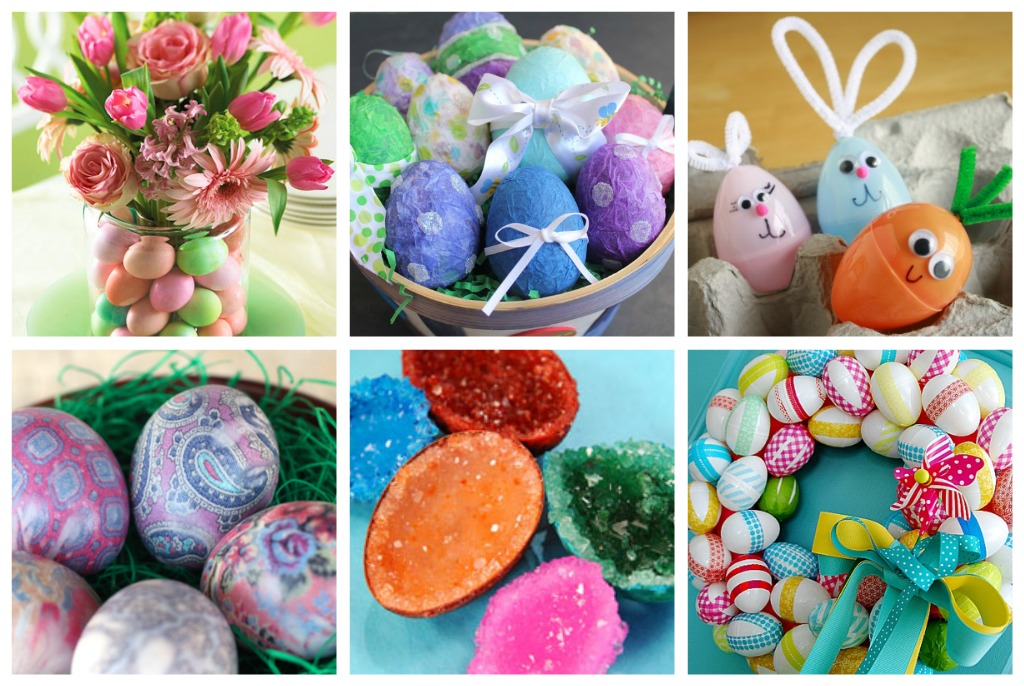 Easter Eggs Crafts Pinterest