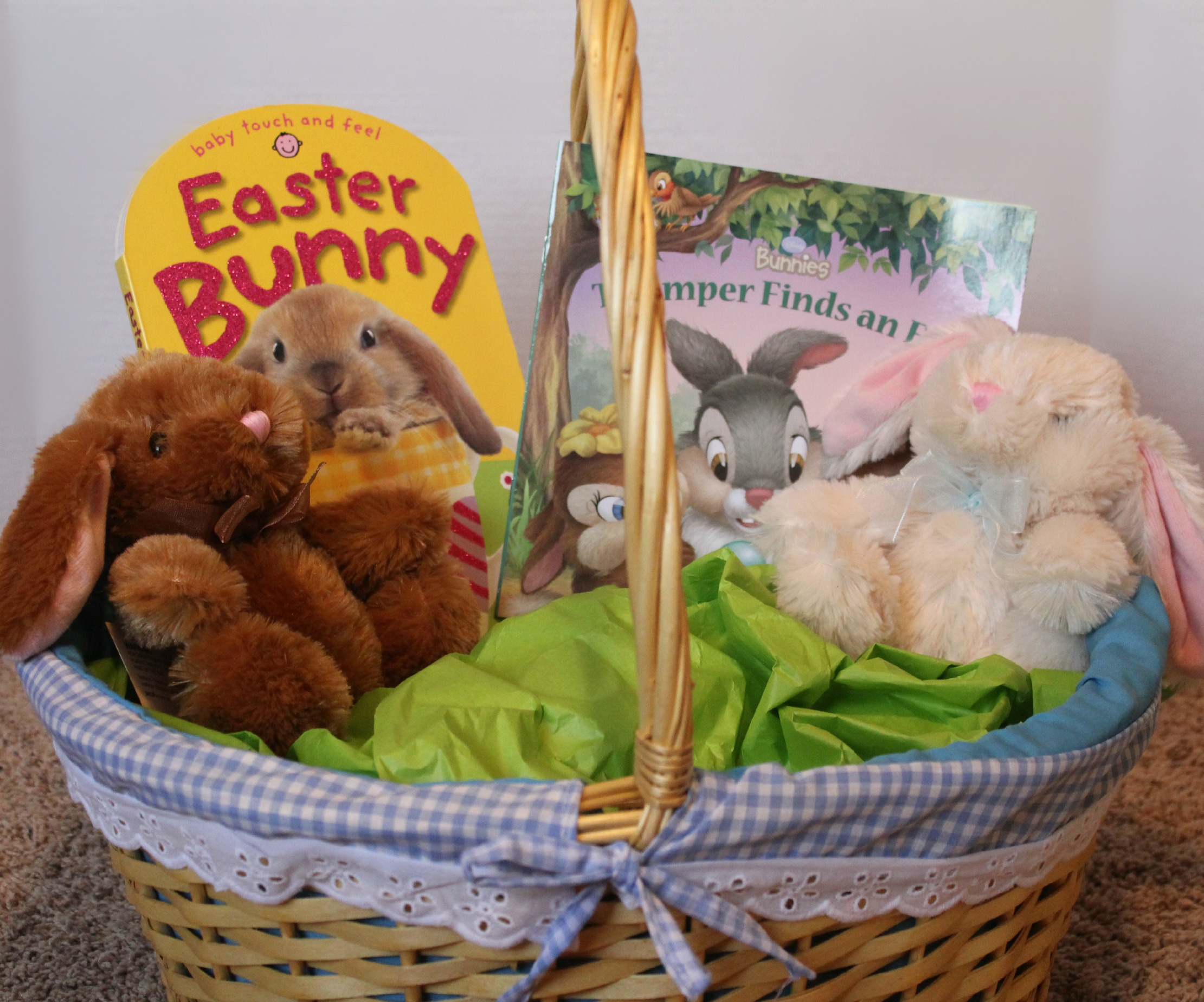 Building an easter basket on a budget after completing negle Gallery
