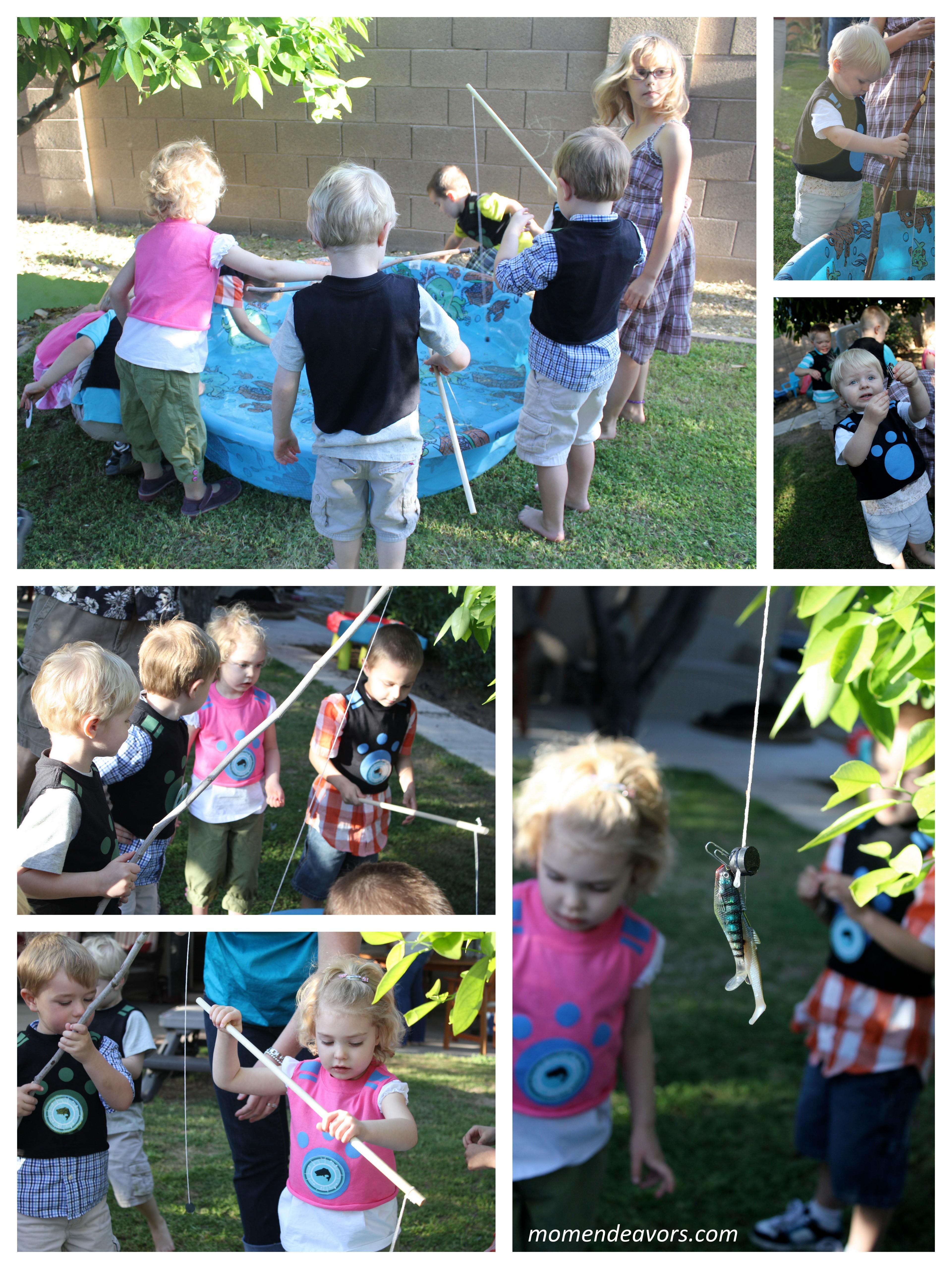 diy backyard fishing activity