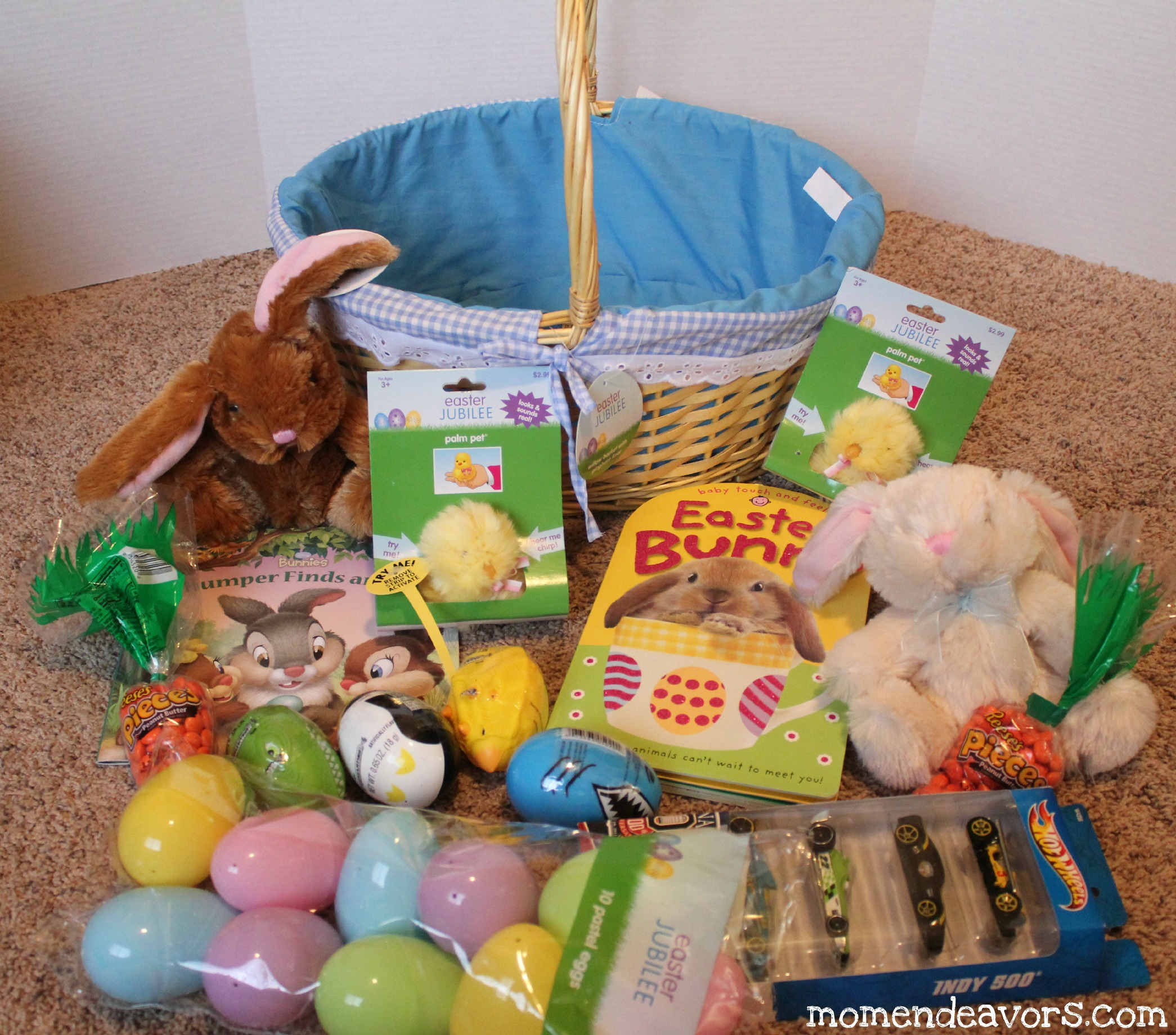 Building an easter basket on a budget we negle