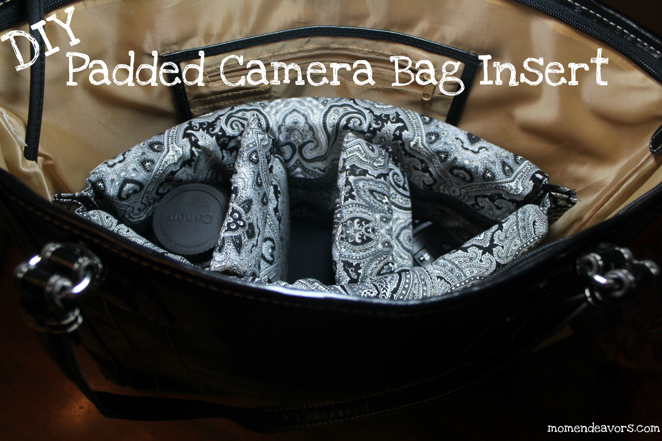 DIY Padded Camera Bag Insert