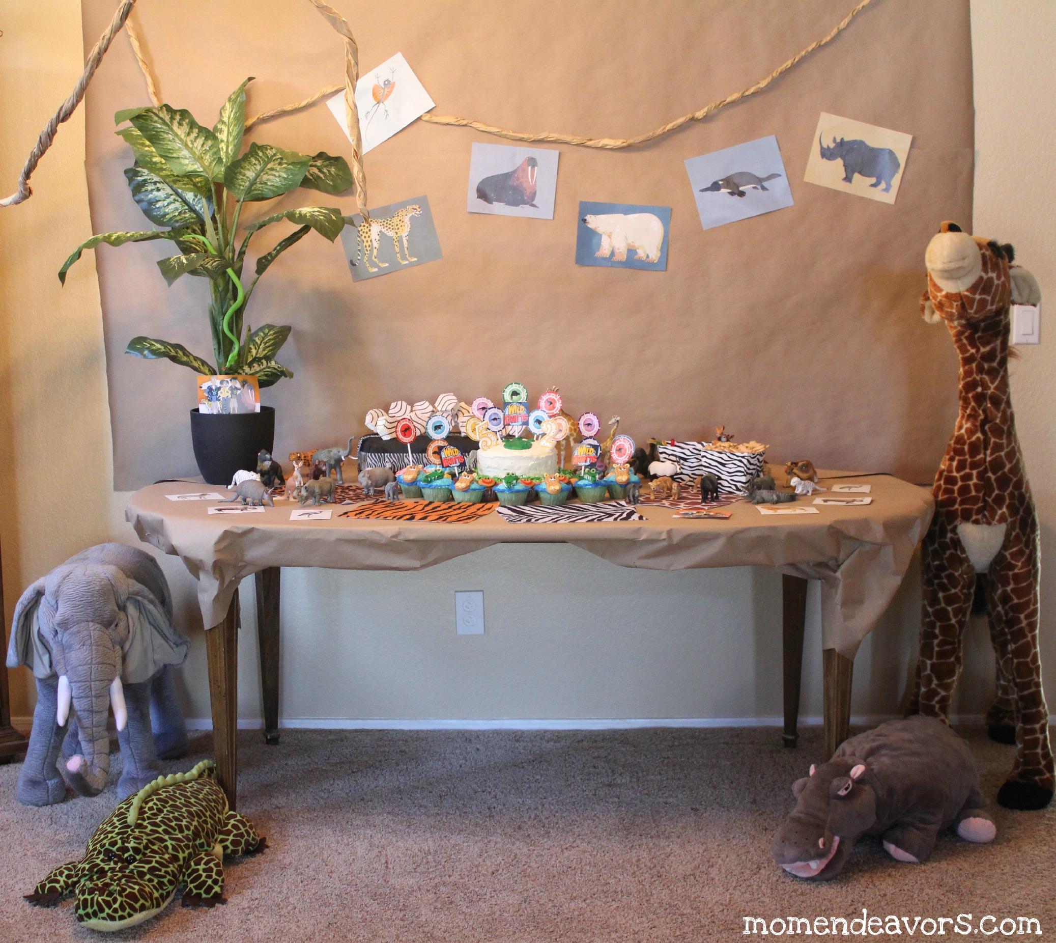 Wild Kratts Dessert Table