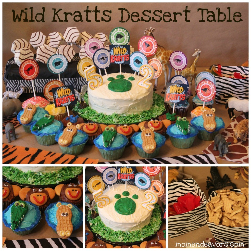 Wild Kratts Cake Ideas